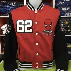 สไปเดอร์แมน เสื้อแจ็คเก็ตกันหนาว (Spiderman Red CODE:0910)