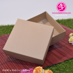 CN1-01-012 : กล่องฝาครอบ ขนาด 13.6 x 13.6 x 3.3 ซม. ไม่มีหน้าต่าง