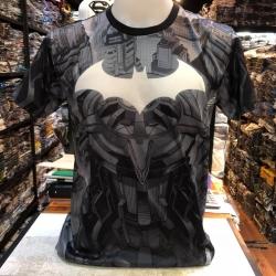 แบทแมน ผ้า Premium SCUBA (Batman Logo white)