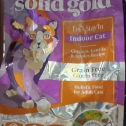 solid gold let's stay in : ไก่,ไฟเบอร์สูง ลดการเกิดก้อนขนอุดตัน บำรุงผิวและขน 1.36 กก. 780รวมส่ง