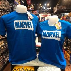 มาร์เวล สีน้ำเงิน (Marvel blue white logo CODE:1103)