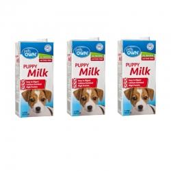 pets own puppy milk 3กล่อง 485รวมส่ง