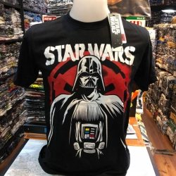 สตาร์วอร์ (Darth Vador black Star Wars LOGO CODE:1356)