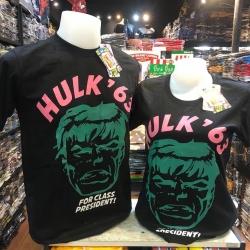 เดอะฮักล์ สีดำ (Hulk '63 logo pink CODE:1335)
