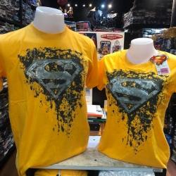 ซุปเปอร์แมน สีเหลือง (Superman logo washed Yellow CODE:1100)