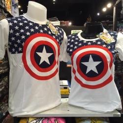 กัปตันอเมริกา สีขาว (Captain white star CODE :0609)