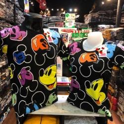 มิกกี้เมาส์ สีดำ (Mickey face color black CODE:1156)