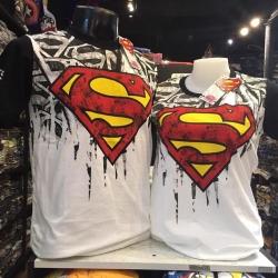 ซุปเปอร์แมน สีขาว (Superman logo arm black CODE:0729)