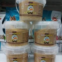 Zenjicheese ผงชีสโรยอาหารและขนม 150กรัม สำหรับ สุนัข แมว กระต่าย นก ชูการ์ แฮมเตอร์ หนึ่งโหล 1250รวมสาง