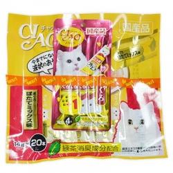 ครีมแมวเลีย ciao save pack ทูน่าหอยเชลล์ สองแพค540รวมส่ง
