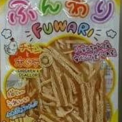 ขนมแมว Fuwari สูตร Chicken & Scallop รสไก่และหอยเชลล์ ขนาด 30 กรัม หกซอง 250รวมส่ง