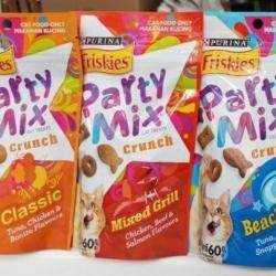 ฟริสกี้ส์ Party Mix สองโหล1130รวมส่ง คละสามสูตร Classic Mixed grill Beachside