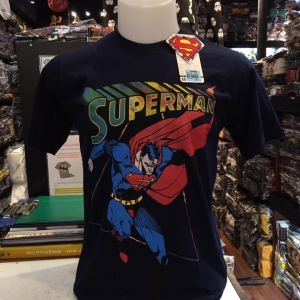 ซุปเปอร์แมน สีกรม (Superman fly navy blue)