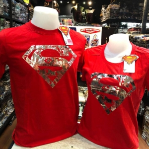 ซุปเปอร์แมน สีแดง (Superman Comic RED)