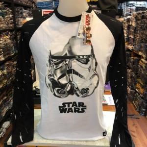 สตาร์วอร์ แขนยาว (LS-Storm Trooper White arm black CODE:0951)