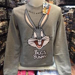 ลูนี่ตูนส์ แขนยาว (Bugs Bunny Grey CODE:1086)