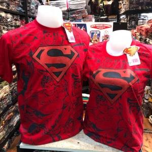 ซุปเปอร์แมน สีแดง (Superman Black Comic RED)