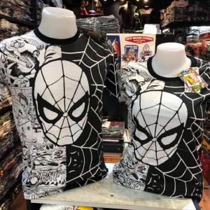 สไปเดอร์แมน สีดำ (Spiderman Half Comic Black)