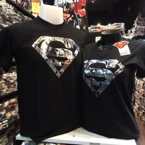 ซุปเปอร์แมน สีดำ (Superman silver logo comic)