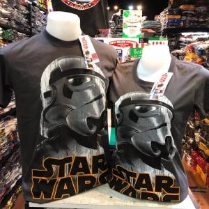 สตาร์วอร์ สีดำ (Trooper Starwars logo CODE:1193)