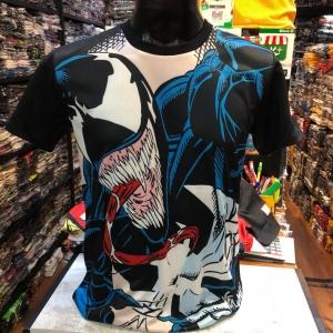 มาร์เวล ผ้า premium SCUBA (Venom black arm)