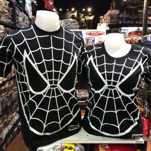 สไปเดอร์แมน สีดำ (Spiderman Web Black)