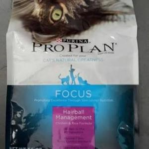 purina proplan แมวโต hairball management 1.59kg 500รวมส่ง