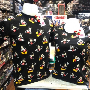มิ้กกี้เมาส์ สีดำ (Mickey triangle tiny CODE:0671)
