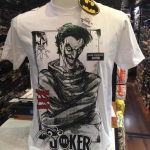 เสื้อ โจกเกอร์ สีขาว (Joker White 0498)