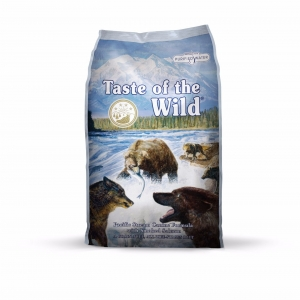 Taste of the Wild อาหารสุนัขเกรดพรีเมียม รสแซลมอนรมควัน Pacific Stream Puppy Formula with Smoked Salmon 680g 460รวมส่ง