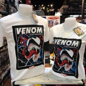 สไปเดอร์แมน สีขาว (Spiderman Venom Fight White)