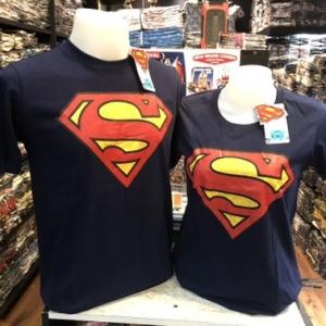 ซุปเปอร์แมน สีกรม (Superman blue logo red)