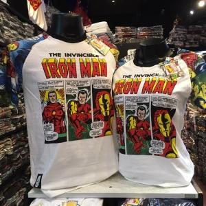 ไอรอนแมนสีขาว (Ironman comic white CODE:0657)