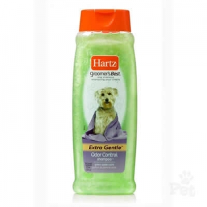 แชมพูสุนัข Hartz Groomer's Best-Odor Control 532ml 320รวมส่ง