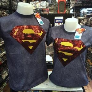ซุปเปอร์แมน สีเทา (Superman gray logo)