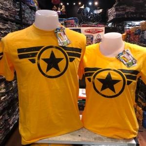 กัปตันอเมริกา สีเหลือง (Captain America Yellow)