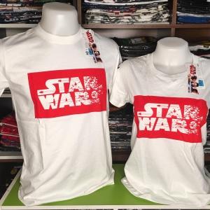 สตาร์วอร์ สีขาว (Star wars LOgo white)