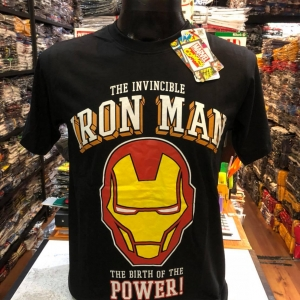 ไอรอนแมน สีดำ (Iron man the birth of power black CODE:1143)