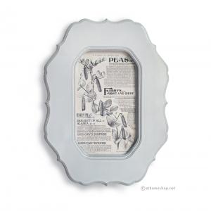 กรอบรูปแขวนผนัง รุ่นวินเทจโบลด์ สีเทาเคลือบเงา Wall frame vintage bold