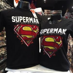 ซุปเปอร์แมน สีดำ (Superman black red yellow logo)