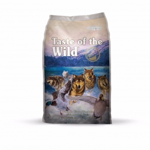 Taste of the Wild อาหารสุนัขเกรดพรีเมียม สูตรเนื้อเป็ด เนื้อไก่งวง และเนื้อนกกระทา Wetlands Canine with Roasted Wild Fowl 680g. 460รวมส่ง
