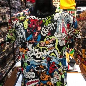 เสื้อมาร์เวล SCUBA (ฺMarvel comic all heroes)