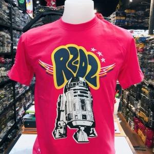 สตาร์วอร์ สีบานเย็น (Star Wars R2 D2 red pink)