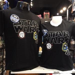 สตาร์วอร์ สีดำ (Star wars stamp)