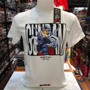 กันดั้ม สีขาว (Gundam Logo Mobile suit White)