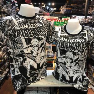สไปเดอร์แมน สีขาว (Amazing Spider-man black white CODE:1239)