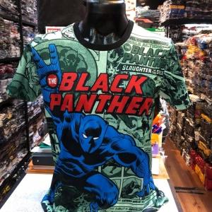 เสื้อมาร์เวล SCUBA (Black Panther CODE:1197)