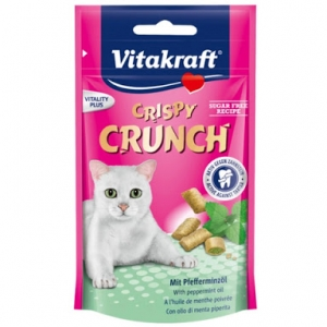 Vitakraft Crispy Crunch มอลต์แถมมิ้นท์ หกคู่ 530รวมส่ง