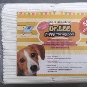 แผ่นรองฉี่สุนัข Dr.Lee แผ่นรองซับฝึกขับถ่าย ขนาด 45*60 บรรจุ 50 แผ่น หนึ่งห่อ 250รวมส่ง