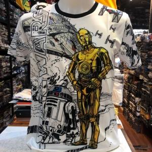 สตาร์วอร์ SCUBA สีขาว (Starwar R2-D2 C-3PO)